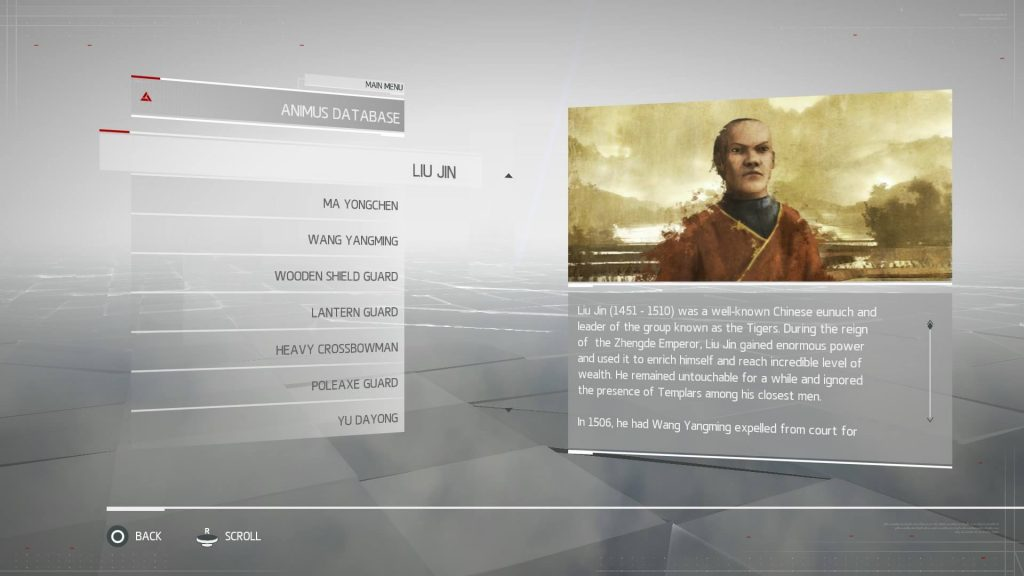 Assassins Creed Chronicles China - Liu Jin
