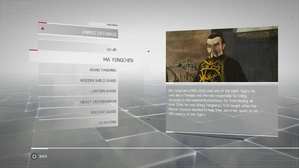 Assassins Creed Chronicles China - Ma Yongcheng