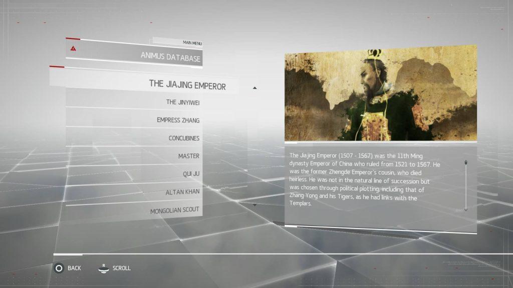 Assassins Creed Chronicles China - The JiaJing Emperor
