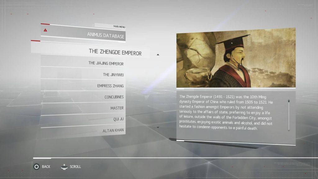 Assassins Creed Chronicles China - The ZhengDe Emperor