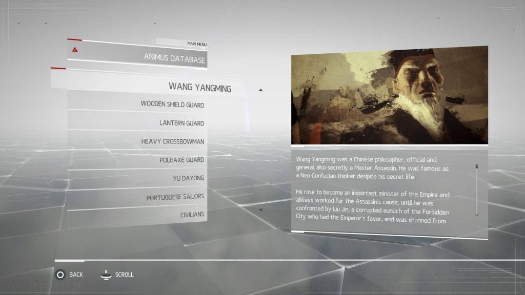 Assassins Creed Chronicles China - Wang Yangming