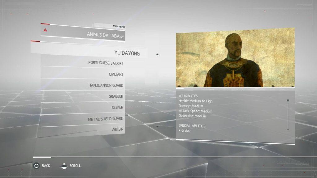 Assassins Creed Chronicles China - Yu Dayong