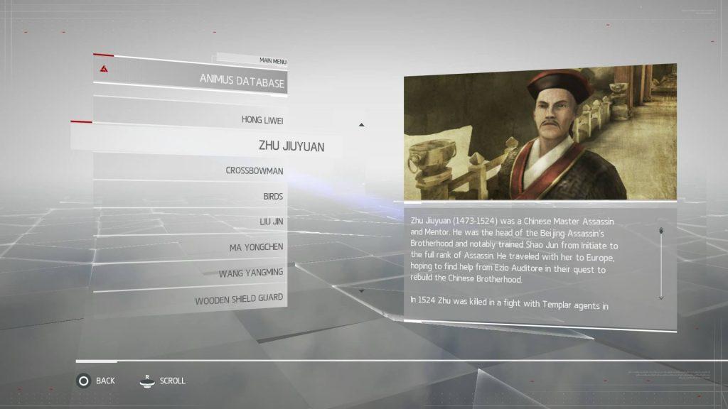 Assassins Creed Chronicles China - Zhu Jiuyuan